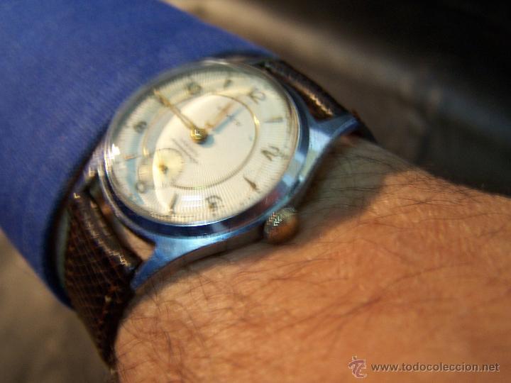 Relojes de pulsera: Antiguo reloj de pulsera de carga manual, ANKER - Foto 30 - 42036842