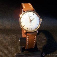 Relojes de pulsera: ANTIGUO RELOJ DE CABALLERO TYPE, DE CARGA MANUAL Y CHAPADO EN ORO.. Lote 42062960