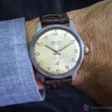 Relojes de pulsera: ANTIGUO RELOJ DE CARGA MANUAL CONVERT,. GRANDE DE CABALLERO Y PULSERA. Lote 42094129