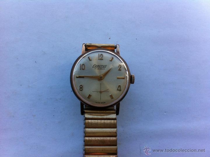 estilo de moda comprar original marcas reconocidas Reloj Exactus cadete