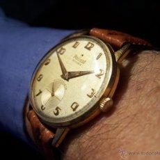 Relojes de pulsera: PRECIOSO Y ANTIGUO RELOJ RADIANT DE CARGA MANUAL CON ESTRELLA DE 5 PUNTAS. Lote 42180956