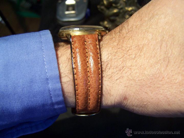 Relojes de pulsera: Precioso y antiguo reloj Radiant de carga manual con estrella de 5 puntas - Foto 3 - 42180956