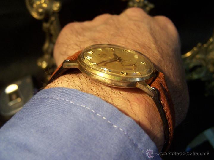 Relojes de pulsera: Precioso y antiguo reloj Radiant de carga manual con estrella de 5 puntas - Foto 4 - 42180956