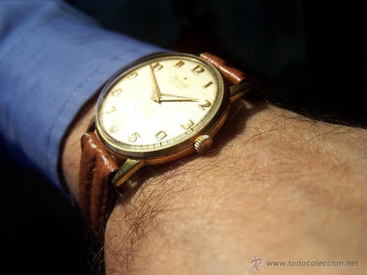Relojes de pulsera: Precioso y antiguo reloj Radiant de carga manual con estrella de 5 puntas - Foto 10 - 42180956