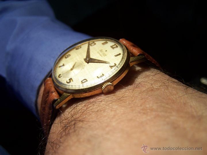 Relojes de pulsera: Precioso y antiguo reloj Radiant de carga manual con estrella de 5 puntas - Foto 14 - 42180956