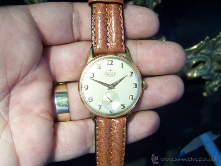 Relojes de pulsera: Precioso y antiguo reloj Radiant de carga manual con estrella de 5 puntas - Foto 16 - 42180956