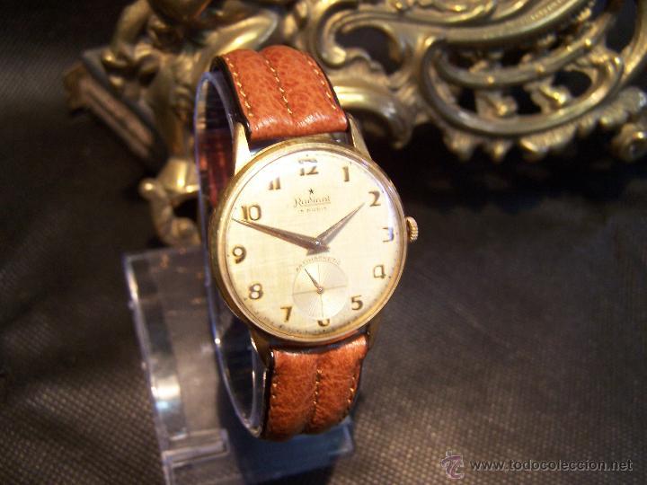 Relojes de pulsera: Precioso y antiguo reloj Radiant de carga manual con estrella de 5 puntas - Foto 21 - 42180956