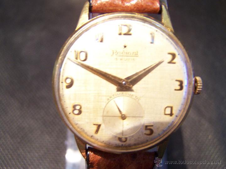 Relojes de pulsera: Precioso y antiguo reloj Radiant de carga manual con estrella de 5 puntas - Foto 32 - 42180956
