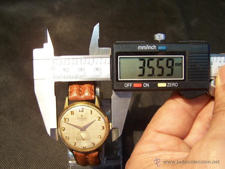 Relojes de pulsera: Precioso y antiguo reloj Radiant de carga manual con estrella de 5 puntas - Foto 33 - 42180956