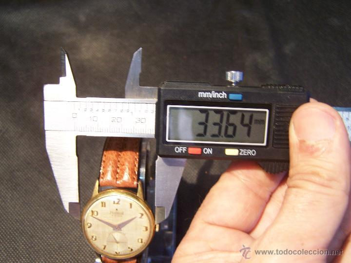 Relojes de pulsera: Precioso y antiguo reloj Radiant de carga manual con estrella de 5 puntas - Foto 34 - 42180956