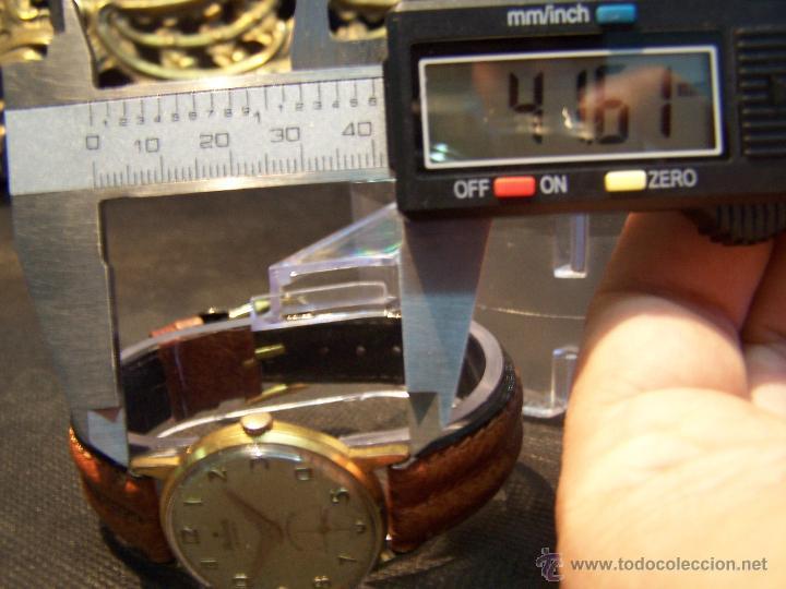 Relojes de pulsera: Precioso y antiguo reloj Radiant de carga manual con estrella de 5 puntas - Foto 36 - 42180956
