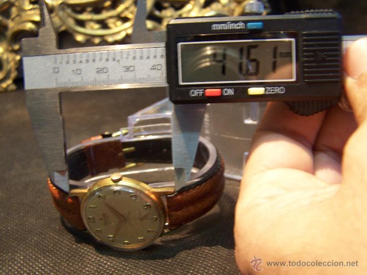 Relojes de pulsera: Precioso y antiguo reloj Radiant de carga manual con estrella de 5 puntas - Foto 37 - 42180956