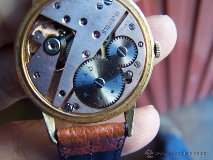 Relojes de pulsera: Precioso y antiguo reloj Radiant de carga manual con estrella de 5 puntas - Foto 38 - 42180956
