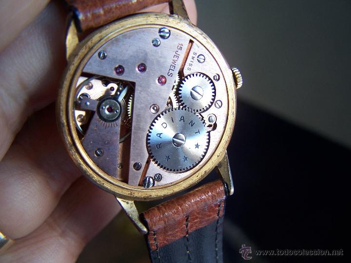 Relojes de pulsera: Precioso y antiguo reloj Radiant de carga manual con estrella de 5 puntas - Foto 41 - 42180956