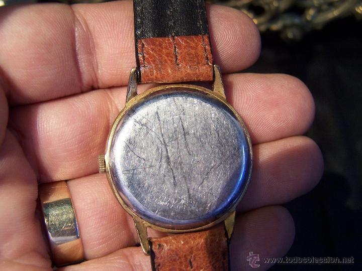 Relojes de pulsera: Precioso y antiguo reloj Radiant de carga manual con estrella de 5 puntas - Foto 44 - 42180956