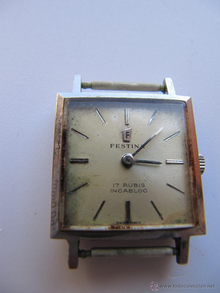 b5a06c993071 reloj festina 17 rubis incabloc carga manual - Comprar Relojes ...