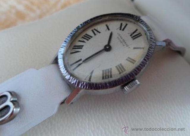 Relojes de pulsera: Reloj Jean Perret Geneve,carga manual - Foto 3 - 42290815