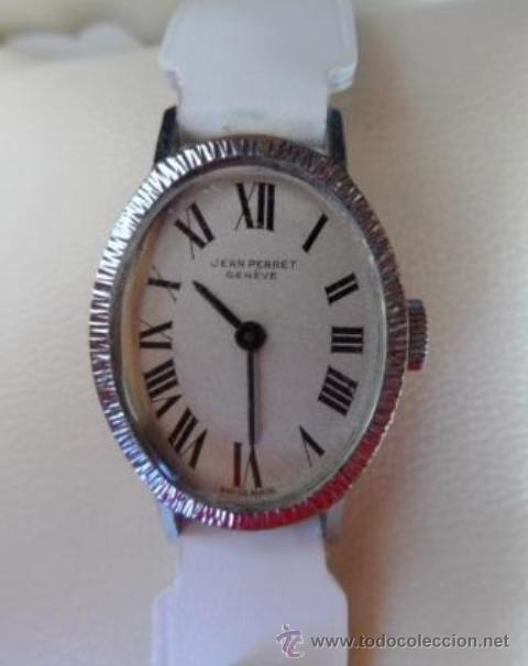 Relojes de pulsera: Reloj Jean Perret Geneve,carga manual - Foto 7 - 42290815