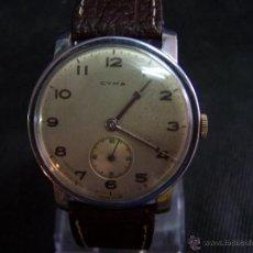 Relojes de pulsera: RELOJ ANTIGUO CYMA DE CARGA MANUAL. Lote 42568551