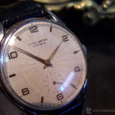 Relojes de pulsera: RELOJ GRANDE, DE CABALLERO, ANTIGUO, DE PULSERA Y DE CARGA MANUAL, JNSA WACTH OLYMPIC. Lote 42578749