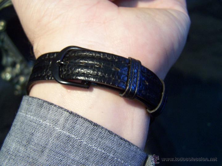 Relojes de pulsera: Reloj grande, de caballero, antiguo, de pulsera y de carga manual, JNSA WACTH OLYMPIC - Foto 5 - 42578749