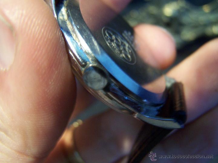 Relojes de pulsera: Reloj grande, de caballero, antiguo, de pulsera y de carga manual, JNSA WACTH OLYMPIC - Foto 18 - 42578749