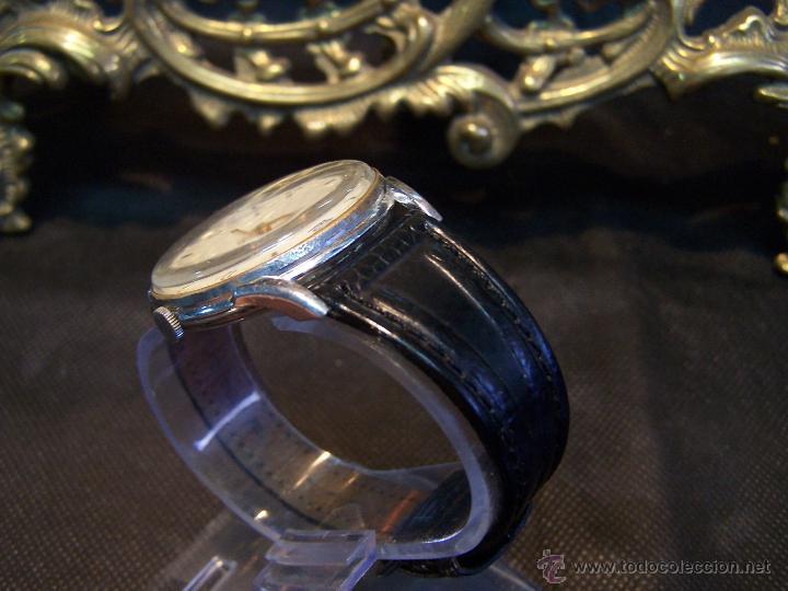 Relojes de pulsera: Reloj grande, de caballero, antiguo, de pulsera y de carga manual, JNSA WACTH OLYMPIC - Foto 26 - 42578749