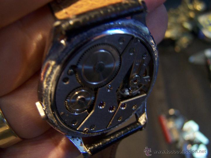 Relojes de pulsera: Reloj grande, de caballero, antiguo, de pulsera y de carga manual, JNSA WACTH OLYMPIC - Foto 33 - 42578749