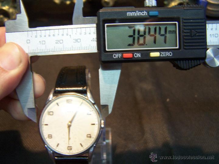 Relojes de pulsera: Reloj grande, de caballero, antiguo, de pulsera y de carga manual, JNSA WACTH OLYMPIC - Foto 36 - 42578749