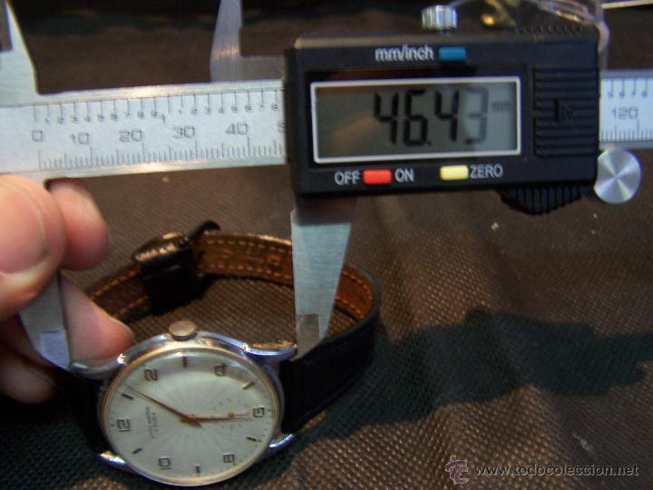 Relojes de pulsera: Reloj grande, de caballero, antiguo, de pulsera y de carga manual, JNSA WACTH OLYMPIC - Foto 38 - 42578749