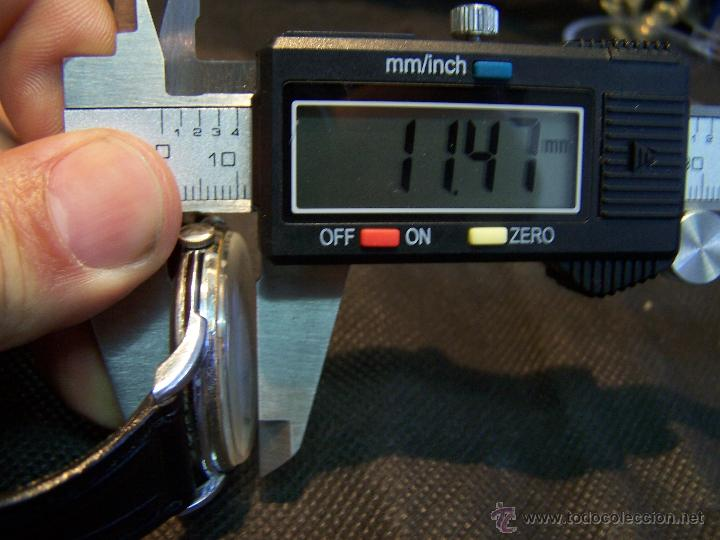Relojes de pulsera: Reloj grande, de caballero, antiguo, de pulsera y de carga manual, JNSA WACTH OLYMPIC - Foto 39 - 42578749