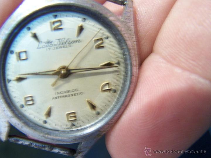 ANTIGUO RELOJ DE PULSERA LORD NELSON, DE CUERDA MANUAL (Relojes - Pulsera Carga Manual)