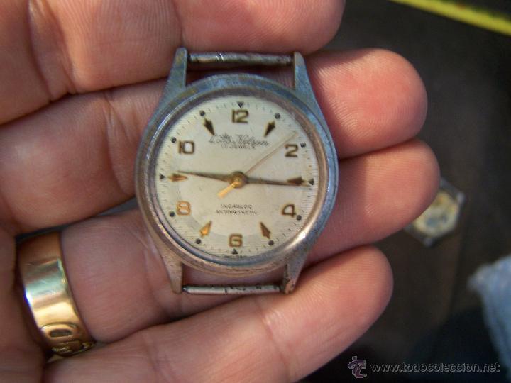 Relojes de pulsera: Antiguo reloj de pulsera Lord Nelson, de cuerda manual - Foto 2 - 42680109