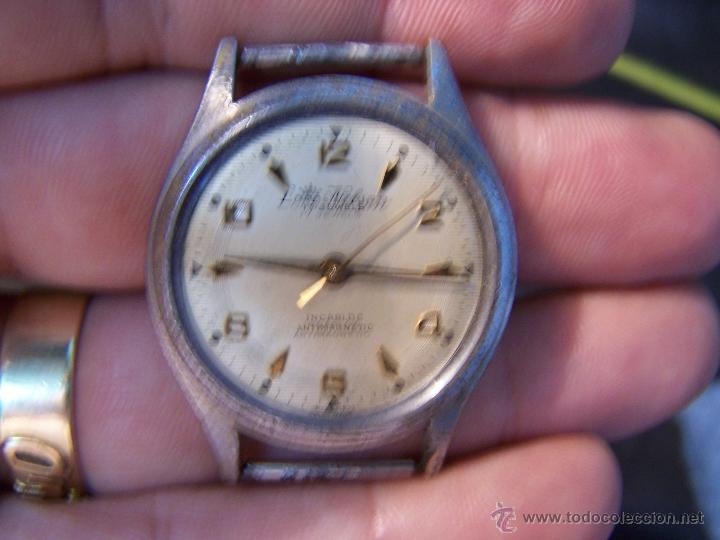 Relojes de pulsera: Antiguo reloj de pulsera Lord Nelson, de cuerda manual - Foto 3 - 42680109