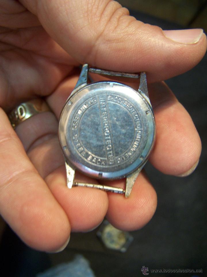 Relojes de pulsera: Antiguo reloj de pulsera Lord Nelson, de cuerda manual - Foto 4 - 42680109