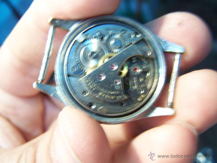 Relojes de pulsera: Antiguo reloj de pulsera Lord Nelson, de cuerda manual - Foto 5 - 42680109