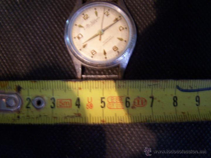 Relojes de pulsera: Antiguo reloj de pulsera Lord Nelson, de cuerda manual - Foto 7 - 42680109