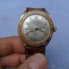 Relojes de pulsera: RELOJ CARGA MANUAL HERMA,SUIZO,ANTICHOQUE,AÑOS 60-70. Lote 42775292