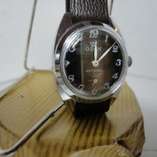 Odin reloj pulsera, acero, carga manual,waterproof, nuevo.