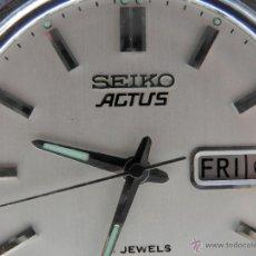 Relojes de pulsera: SEIKO ACTUS 21 JEWELS AÑO 1960. MECÁNICA AUTOMÁTICA POR MOVIMIENTO MANUAL. Lote 43240800