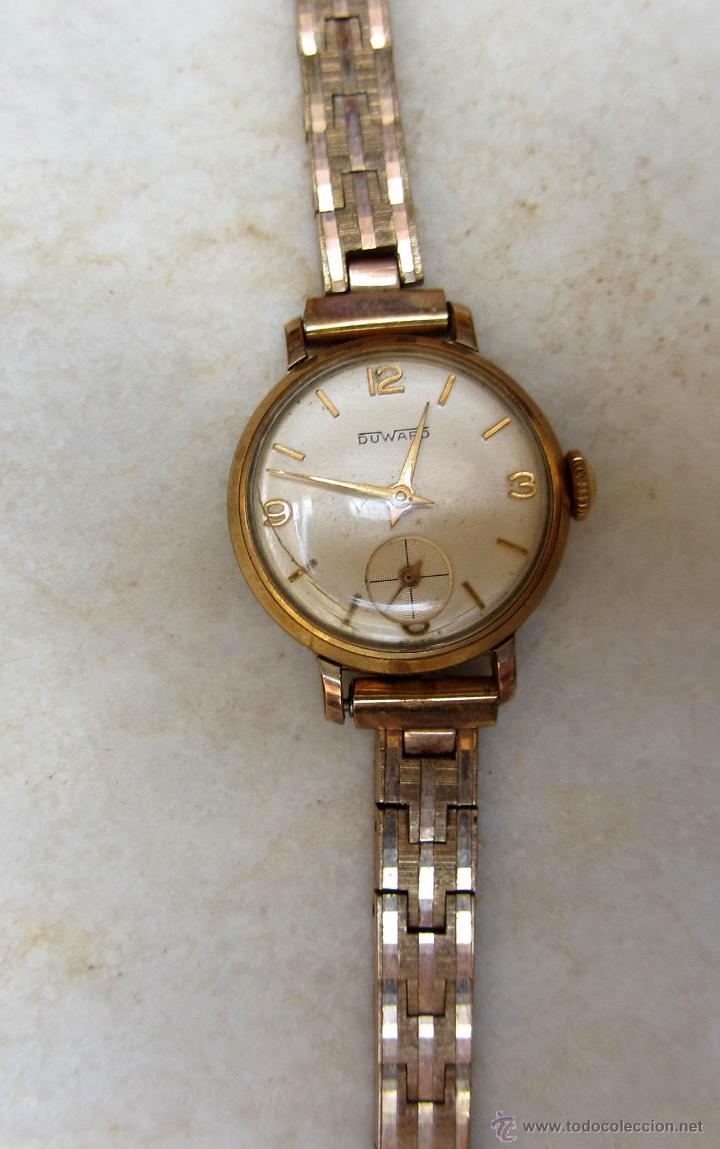 reloj de pulsera de señora chapado oro duward. - Comprar Relojes ... 945f4c9d1f10