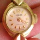 Relojes de pulsera: PRECIOSO RELOJ BAÑO DE ORO , DE SEÑORA MARCA SPERA 17 JEWELS SWISS MADE.. Lote 43479891