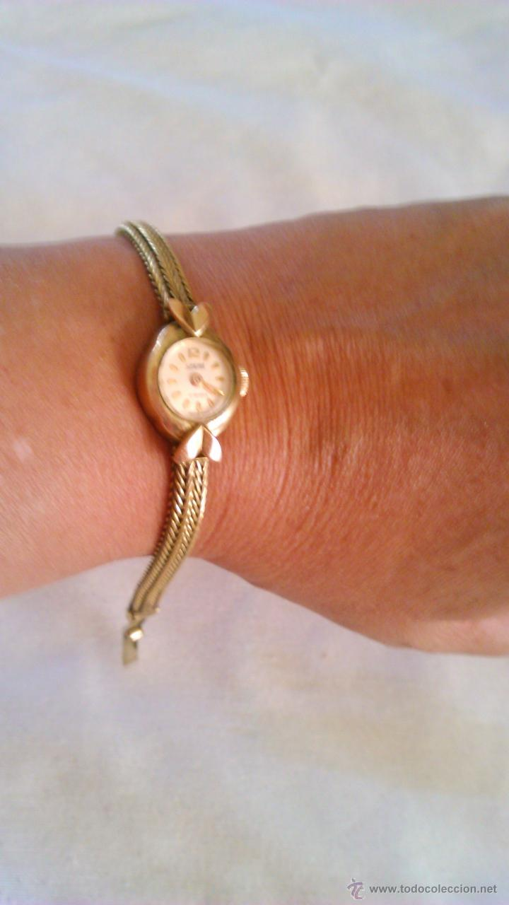 Relojes de pulsera: Precioso reloj baño de oro , de señora marca SPERA 17 jewels SWISS MADE. - Foto 6 - 43479891