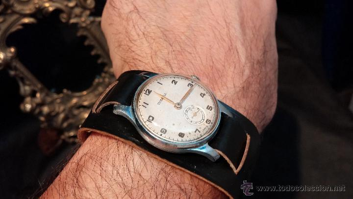 Antiguo reloj ruso pobeda de caballero de carga manual - España - Precioso  reloj antiguo ruso 9f63206e92d0