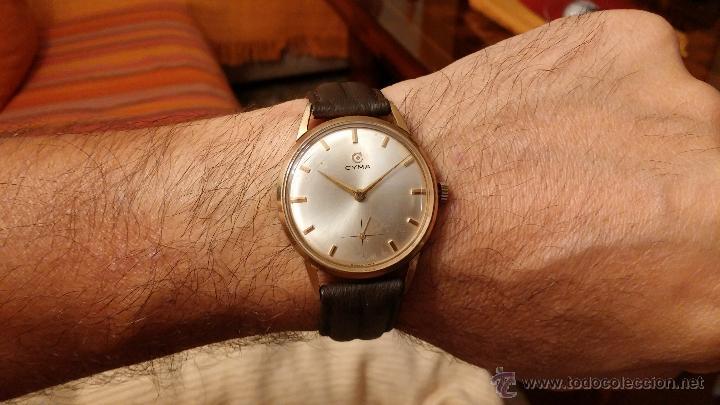 RELOJ ANTIGUO CYMA, CON EL AFAMADO K-586 Y UN NÚMERO DE MAQUIARIA 387063, MUY BAJO (Relojes - Pulsera Carga Manual)