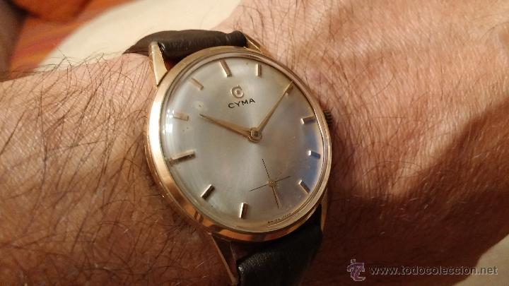 Relojes de pulsera: Reloj antiguo Cyma, con el afamado k-586 y un número de maquiaria 387063, muy bajo - Foto 5 - 43612719