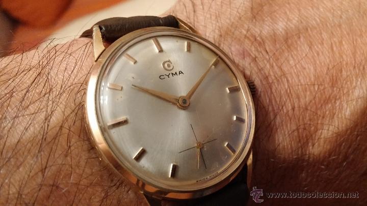 Relojes de pulsera: Reloj antiguo Cyma, con el afamado k-586 y un número de maquiaria 387063, muy bajo - Foto 6 - 43612719