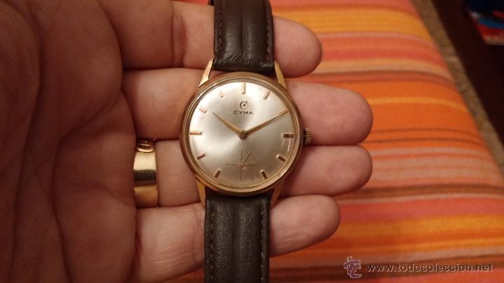 Relojes de pulsera: Reloj antiguo Cyma, con el afamado k-586 y un número de maquiaria 387063, muy bajo - Foto 7 - 43612719
