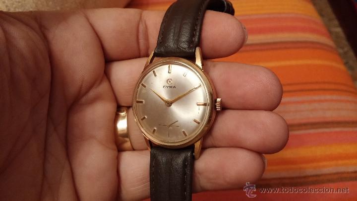 Relojes de pulsera: Reloj antiguo Cyma, con el afamado k-586 y un número de maquiaria 387063, muy bajo - Foto 8 - 43612719