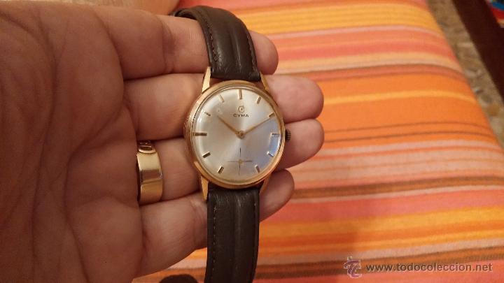 Relojes de pulsera: Reloj antiguo Cyma, con el afamado k-586 y un número de maquiaria 387063, muy bajo - Foto 9 - 43612719